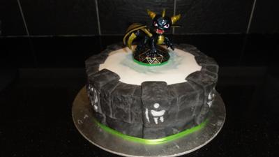 Portal of Power cake