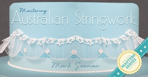 Poster with the wordings ' Australian Stringwork'