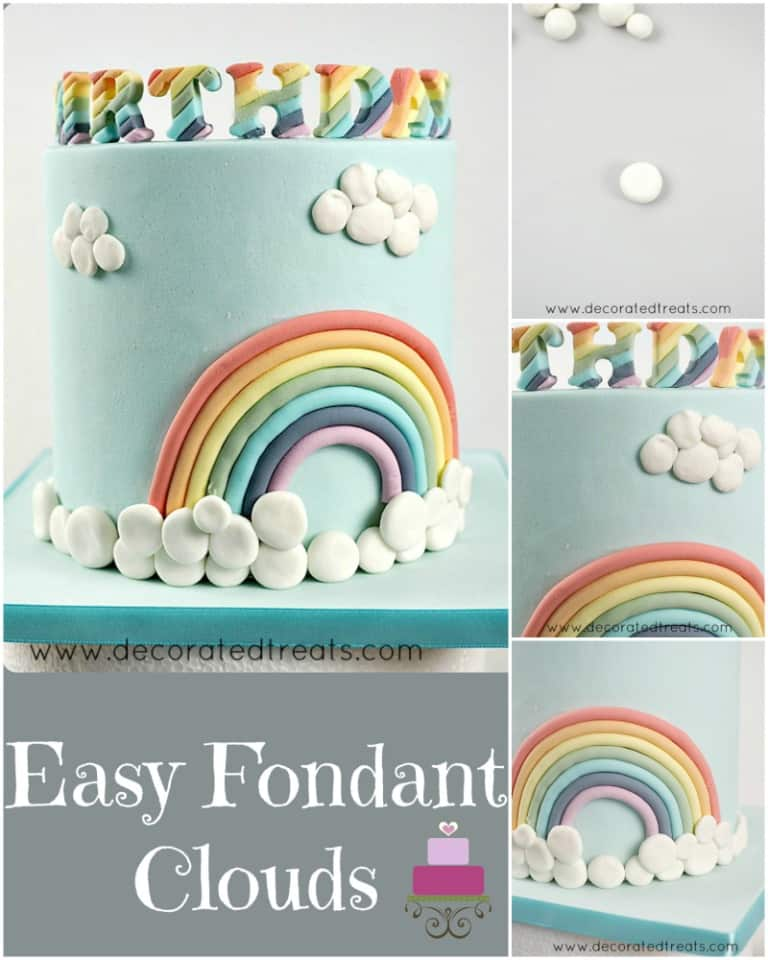 Poster for fondant clouds