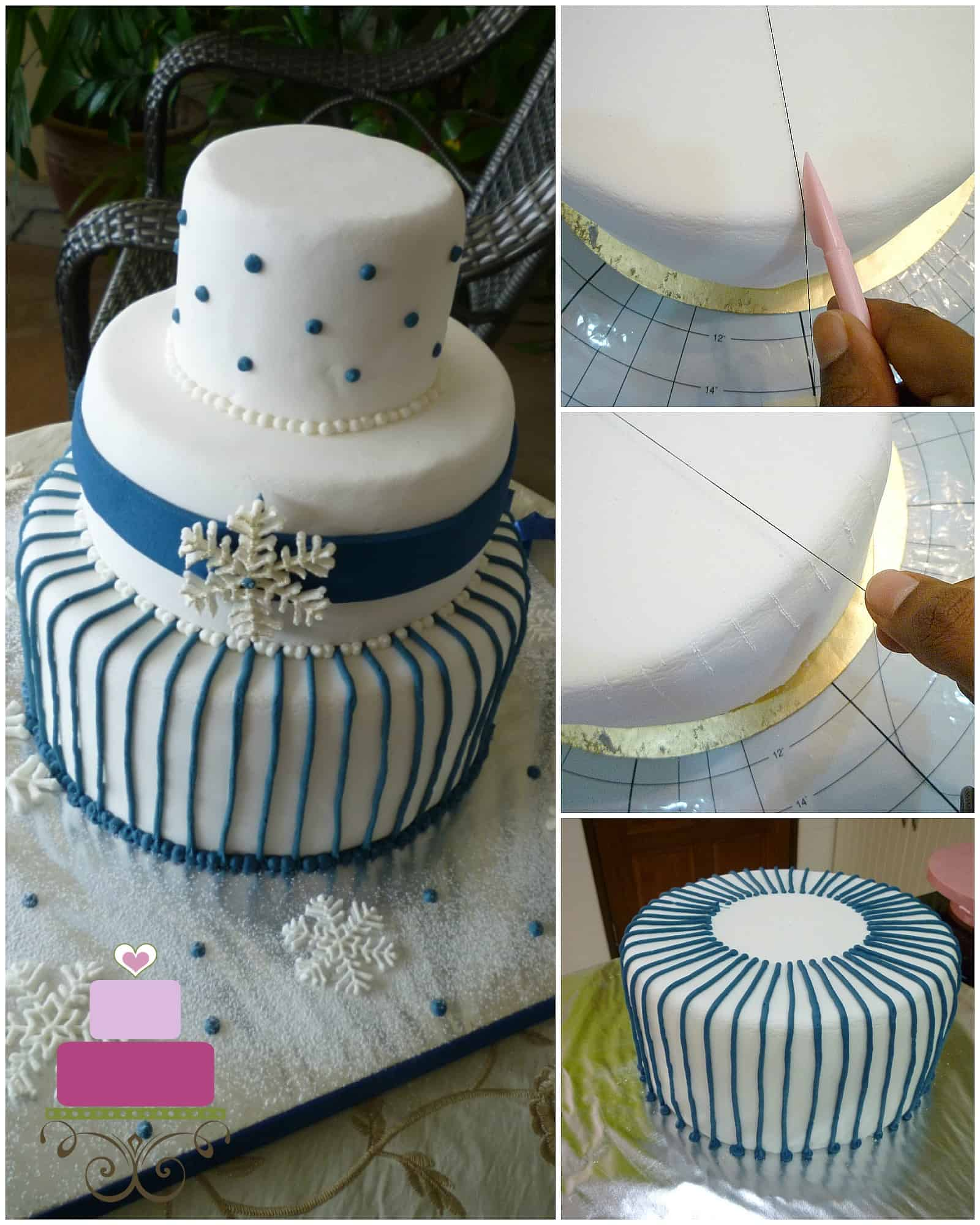 Poster for piping consistent lines on cakes