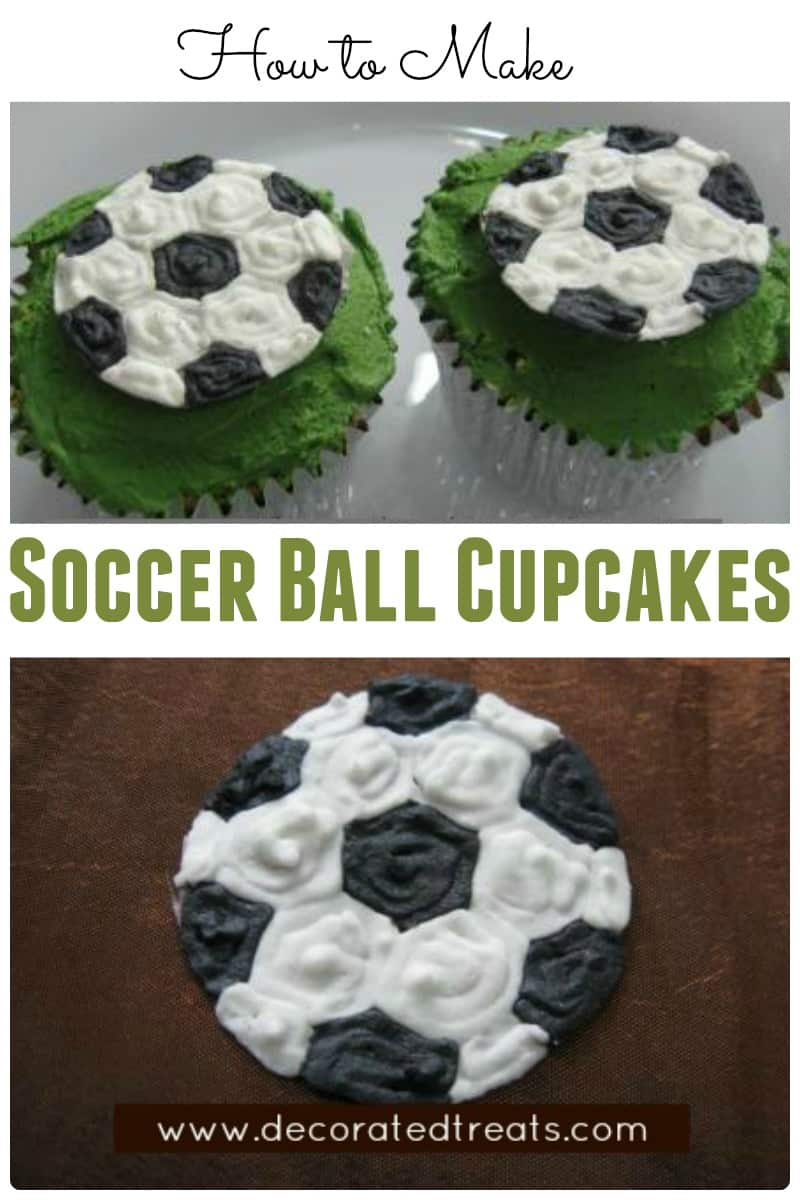 Poster for Soccer Ball Cupcakes