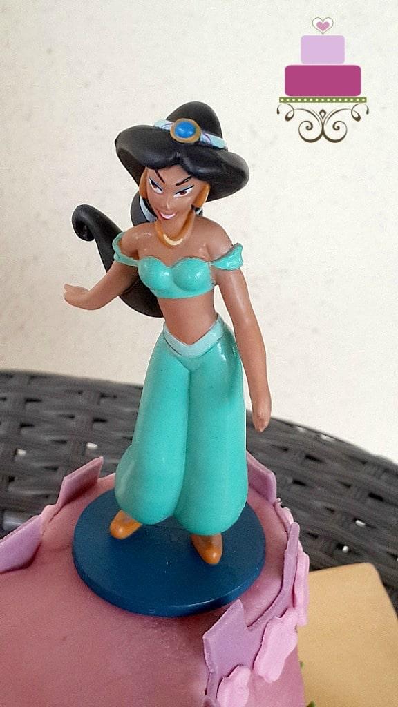 Princess Jasmine toy topper