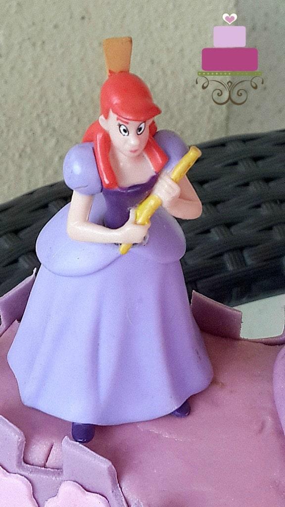 Princess toy topper