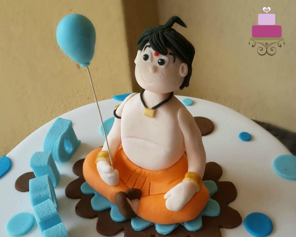 Chhota Bheem cake topper