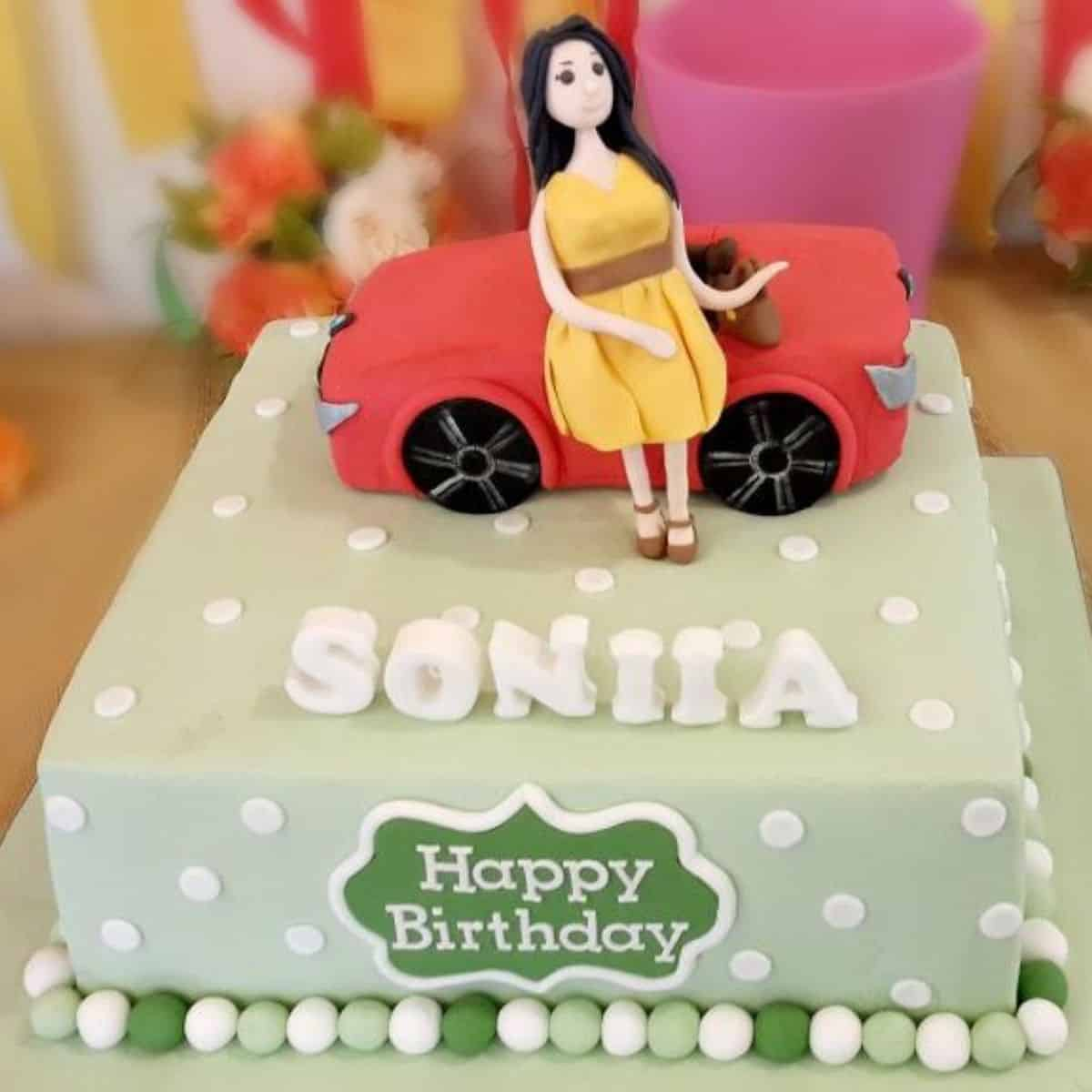 21st Birthday Cake For Girls A Decorating Tutorial Decorated Treats