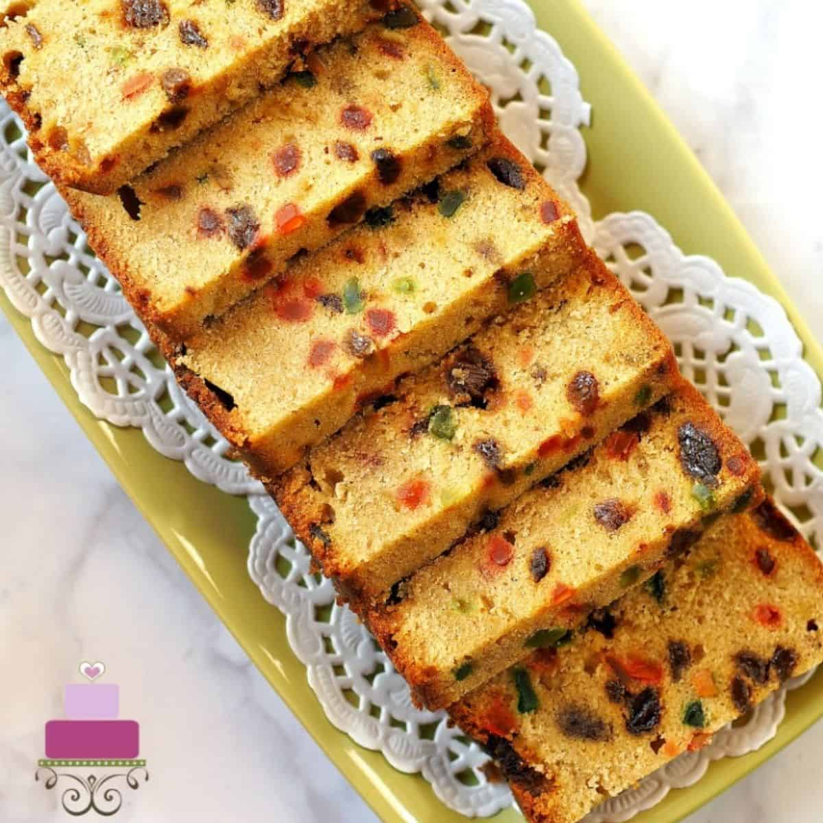 Light Fruit Cake An Easy And Quick Recipe Decorated Treats